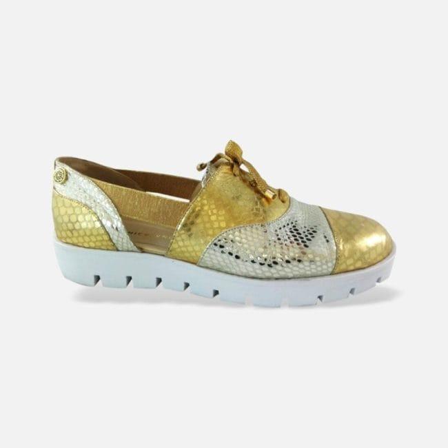Zapato CHICALANDIA Francia Dorado