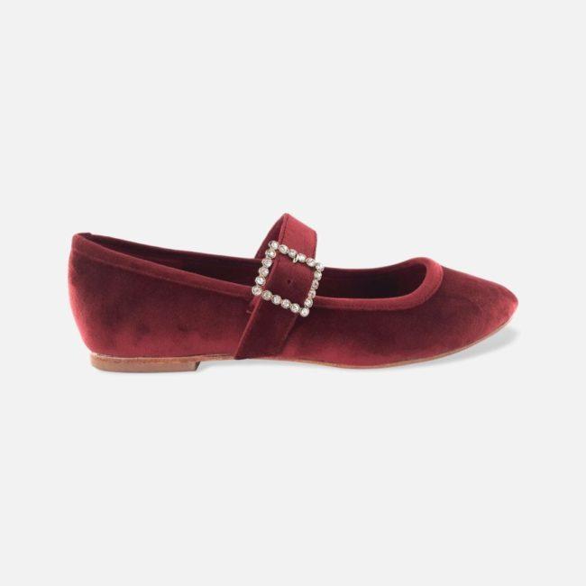 Zapato CHICALANDIA Corazón Rojo Vino