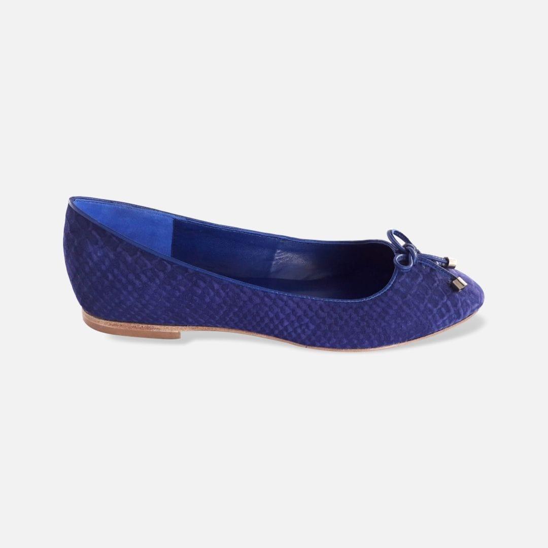 Zapato CHICALANDIA Vizio Azul Lado